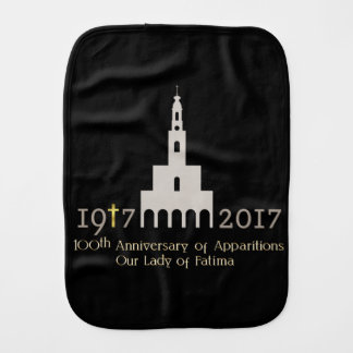 100th Anniversary of Apparitions - Fatima Burp Cloth