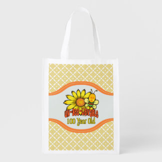 100th Birthday - Unbelievable at 100 Years Old Reusable Grocery Bag