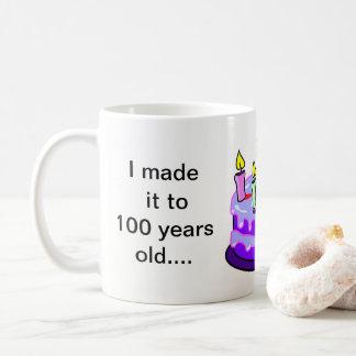 100th Birthday - White 11 oz Classic Mug