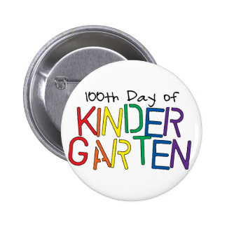 100th Day of Kindergarten Button