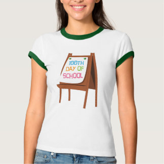 100th Day Of School Easel Tee Shirts