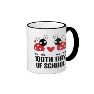 100th Day Of School Ladybug Teacher Gift Mugs