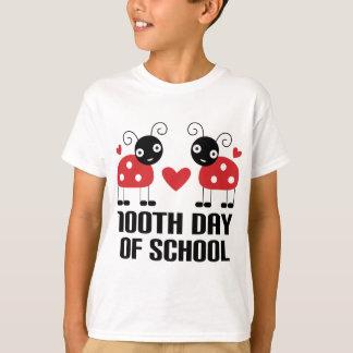 100th Day Of School Ladybug Teacher Gift T-Shirt
