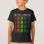 100th Day of School Rainbow Counting Teacher T-Shirt