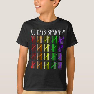 100th Day of School Rainbow Counting Teacher T-Shirt