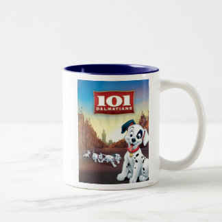 101 Dalmatian Patches Wagging his Tail Coffee Mugs