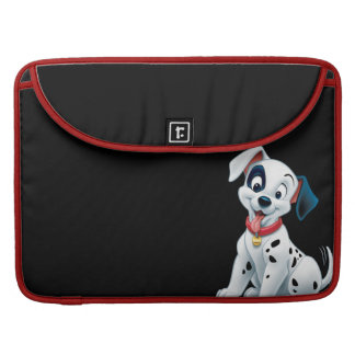 101 Dalmatian Patches Wagging his Tail Sleeves For MacBooks