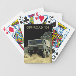101 Forward Control Bicycle Playing Cards