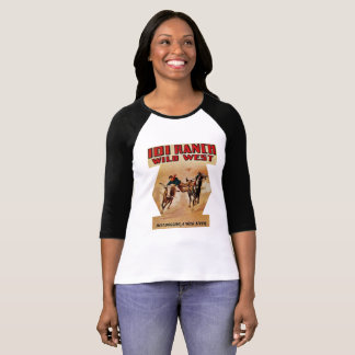 101 Ranch Western Rodeo Steer Wrestling T-Shirt
