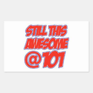 101 year old designs sticker