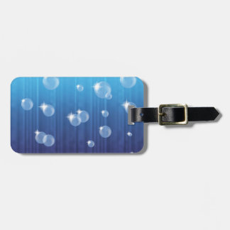 101Bubbles_rasterized Luggage Tag
