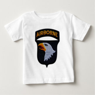 101st ABN Airborne Division Screaming Eagles Vets Baby T-Shirt