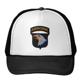 101st ABN Airborne Division Screaming Eagles Vets Trucker Hat