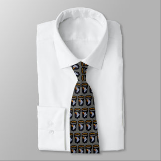 101st ABN Airborne Screaming Eagles Fort Campbell Tie