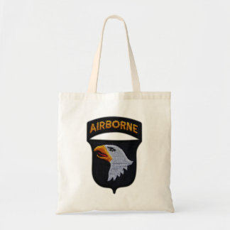 101st ABN Airborne Screaming Eagles Veterans LRRP Tote Bag