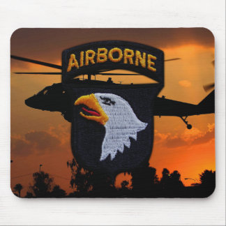 101st ABN DIV Airborne Division Screaming Eagles Mouse Pad