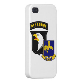 101st Airborne 502nd Infantry iPhone 4 Case