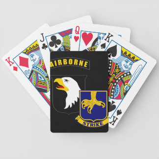 101st Airborne 502nd Infantry Poker Deck