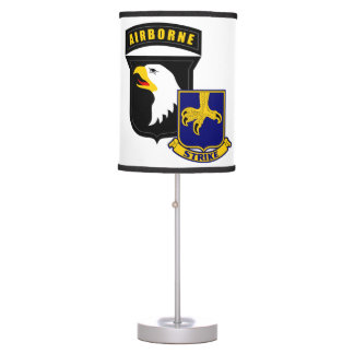 101st Airborne 502nd Infantry Table Lamps