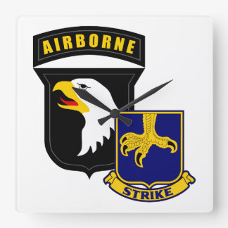 101st Airborne 502nd Infantry Wallclocks