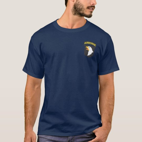 101st Airborne + Airborne Wings T-shirts