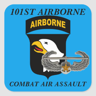 101ST AIRBORNE COMBAT AIR ASSAULT STICKERS