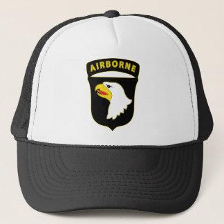 101st Airborne Div Combat Service Badge Trucker Hat