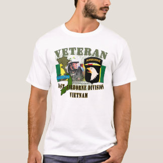 101st Airborne Div - Vietnam (w/CIB) T-Shirt
