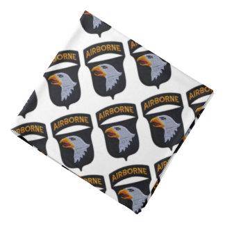 101st airborne screaming eagles veterans patch bandana
