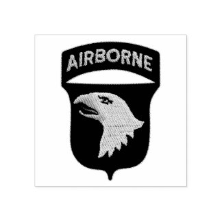101st Airborne Screaming Eagles Veterans Vets Rubber Stamp
