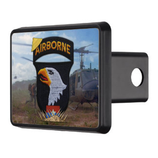 101st airborne screaming eagles vietnam nam war trailer hitch cover