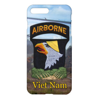 101st airborne screaming eagles vietnam veterans iPhone 8 plus/7 plus case