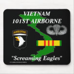 101st Airborne Vietnam Mousepad 2/b