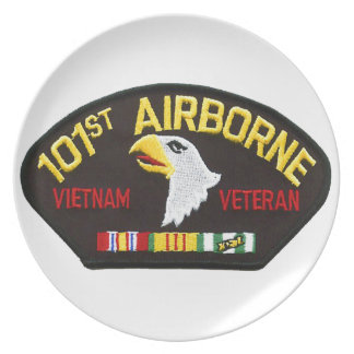 101st Airborne Vietnam Veteran Party Plates