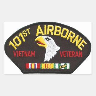 101st Airborne Vietnam Veteran Sticker