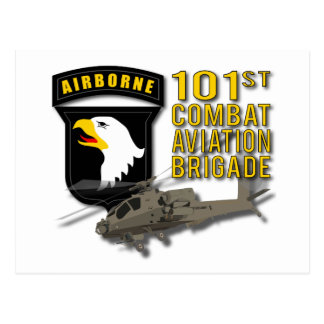 101st Combat Aviation - Apache Postcard