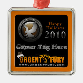 101st Screaming Eagles 2010 Christmas Ornament