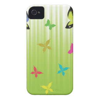 102Green  Background _rasterized iPhone 4 Case-Mate Case