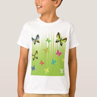 102Green  Background _rasterized T-Shirt