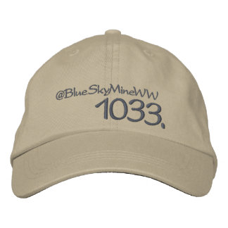1033. How far will you go? Embroidered Hat