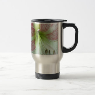 104a Amaryllis Apple Blossom open 2 Travel Mug