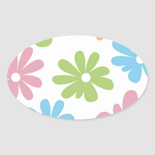105 COLORFUL VECTOR FLOWERS COLLAGE GRAPHICS TEMPL STICKERS