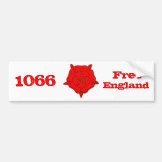 1066 - L'Angleterre libre Autocollant De Voiture