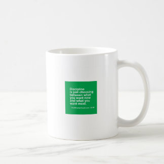 106- Small Business Owner Gift - Discipline Choice Coffee Mug