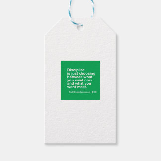 106- Small Business Owner Gift - Discipline Choice Gift Tags