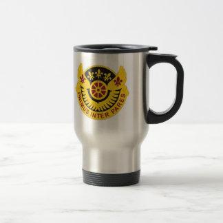 106 Transportation Battalion 15 Oz Stainless Steel Travel Mug