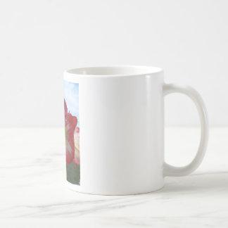 106a Amaryllis red and white MegaStar2 Coffee Mug