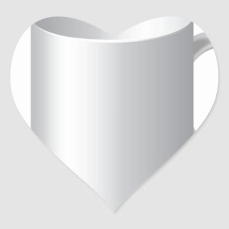 106White Mug _rasterized Heart Sticker