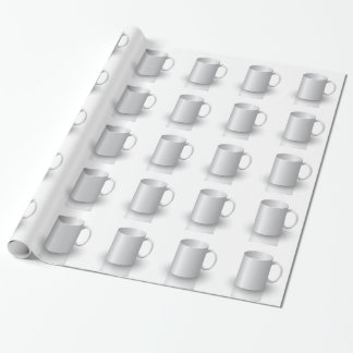 106White Mug _rasterized Wrapping Paper