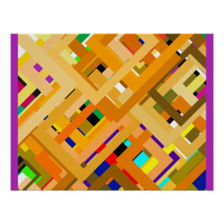 107 Color Frames2 jGibney The MUSEUM Zazzle Gifts Poster